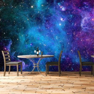 Space Gas Cloud Wall Poster