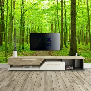 Beautiful Green Forest Wall Poster