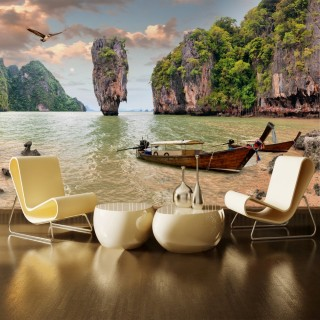 An Island in Thailand Wall Poster