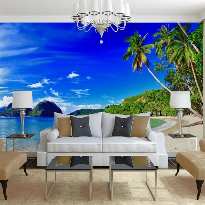 Sea View Wall Poster