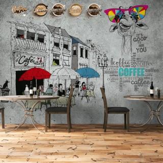 Cafe Wallpaper - Custom Design