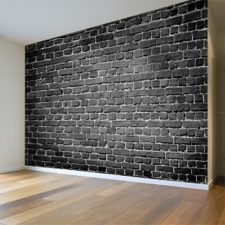 Gray Brick Wall Poster