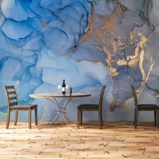 Blue Marble Model Wallpaper - Wall Mural
