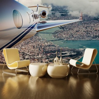 Airplane over Istanbul - Special design