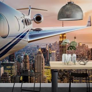 Airplane over Newyork - Special design