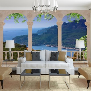 Sea View Wall Poster