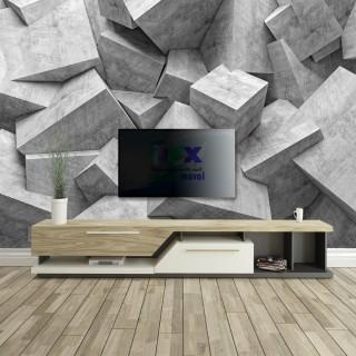 3D Concrete Block