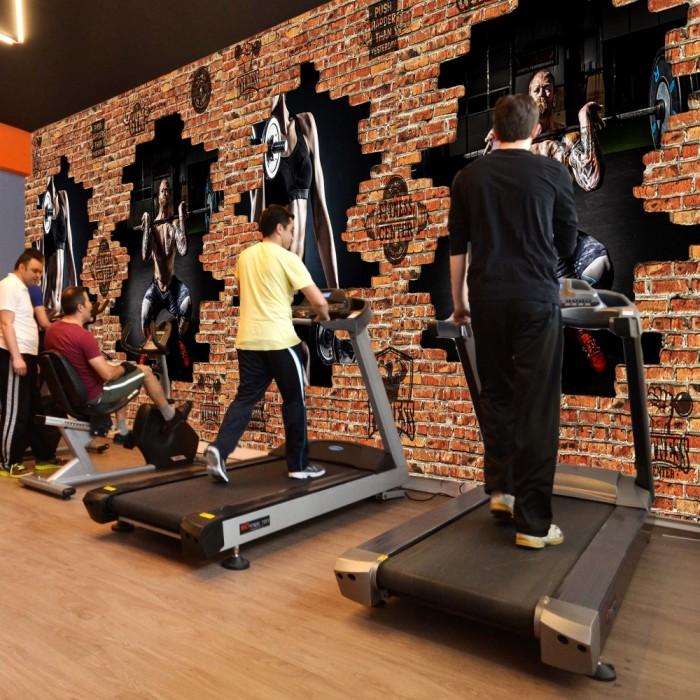 Gym 3D Wallpaper