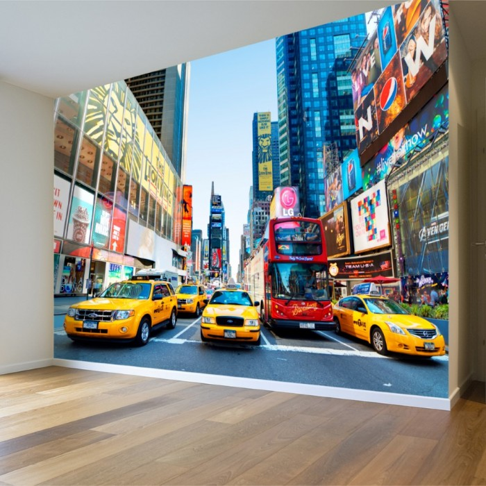 New York Streets Wall Poster