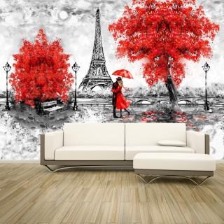 Eiffel Tower with Oil Paint Effect- Paris