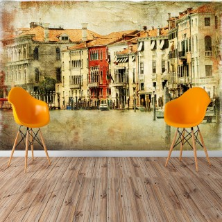 Tumbled Venice Wall Poster